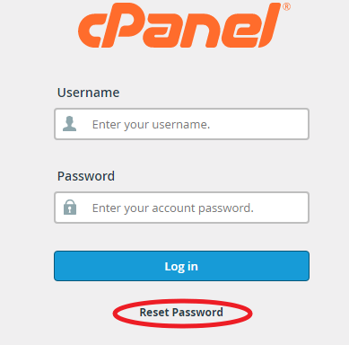 cPanel密码忘了该怎么办?