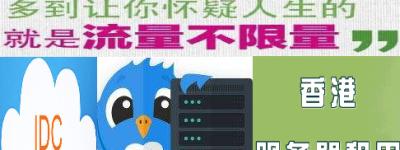 无限流量香港服务器租用优势