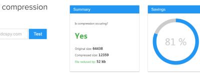 WordPress网站开启Gzip压缩方法