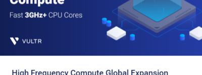 Vultr高频SSD云VPS新增东京洛杉矶等多个数据中心