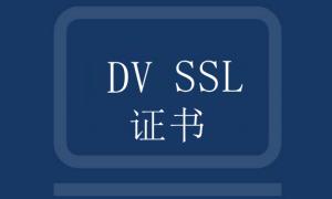 DV SSL证书的优势以及申请流程