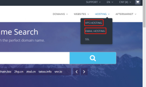 Dynadot账户把域名托管在主机上的方法