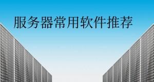 国内外服务器常用软件推荐