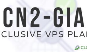 CloudCone CN2 GIA美国服务器限时促销 低至$73/月
