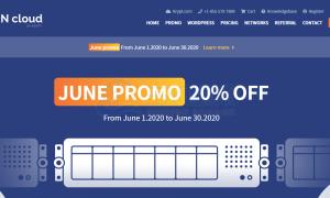 Krypt iON云服务器六月钜惠 可享八折优惠