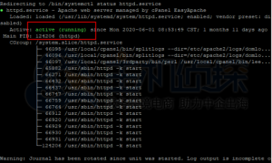 CentOS 8 安装Apache的图文教程