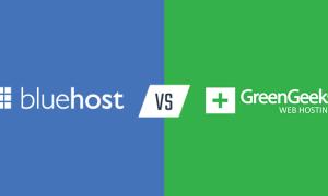 两大美国主机商Bluehost与GreenGeeks对比评测