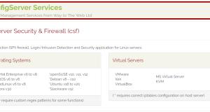 Linux服务器防火墙软件推荐:CSF
