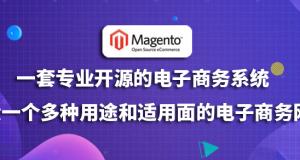 Magento外贸建站:一套专业开源的电子商务系统