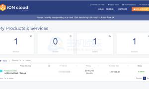iON服务器账户续费教程