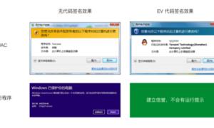 Windows代码签名证书特点和签名流程