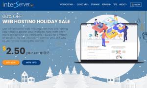 Interserver美国主机圣诞促销 限时60%优惠
