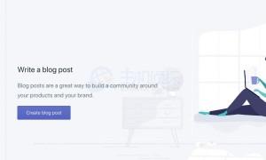如何使用Shopify搭建博客