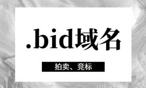 .bid域名可以备案吗