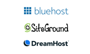 BlueHost、DreamHost和SiteGround三大WordPress主机对比评测