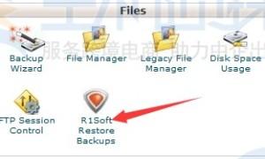 """通过""""R1Soft Restore Backups""""恢复HawkHost网站数据"""