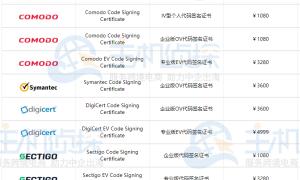 Java代码签名证书去哪申请?安装教程