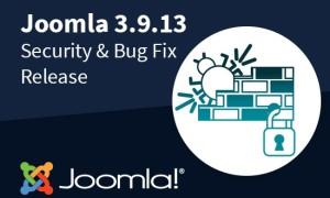 Joomla版本更新:Joomla 3.9.13发布