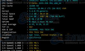 RAKsmart美国云服务器CN2线路简单评测