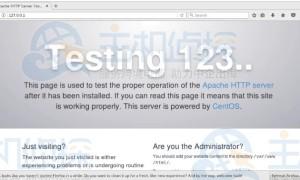 Linux如何搭建Apache服务器 Linux搭建Apache服务器教程