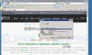 Megalayer香港服务器安装宝塔Windows面板教程