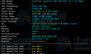 RAKsmart美国云服务器洛杉矶机房CN2线路评测