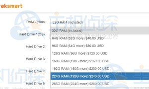 RAKsmart美国服务器运行内存一般多大