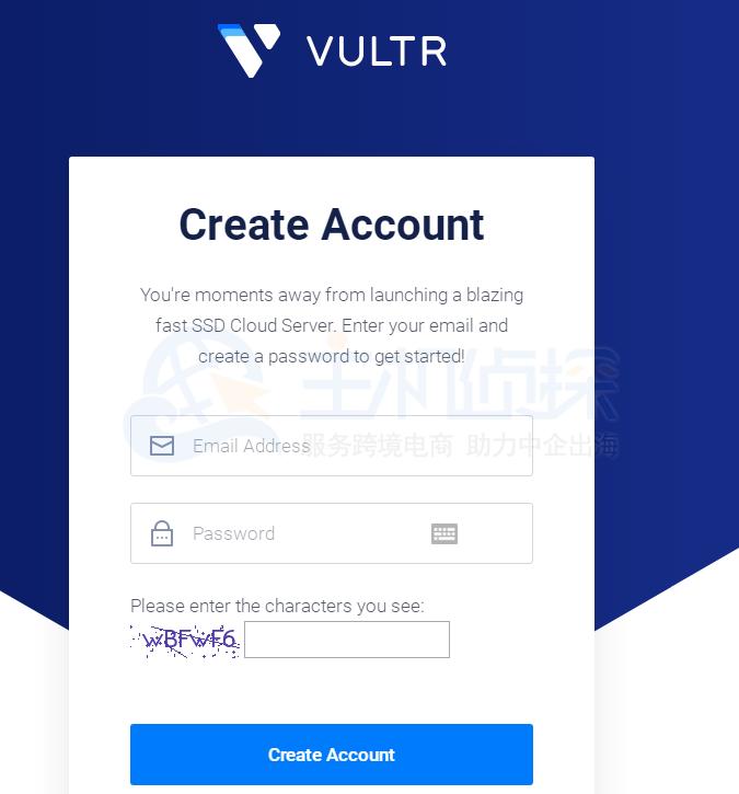vultr新账户注册可获赠100美元