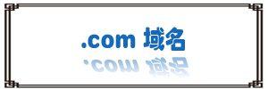com后缀域名
