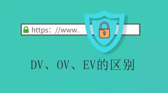 DV、OV、EV SSL证书之间的区别