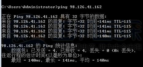 Krypt iON WordPress主机ping测试