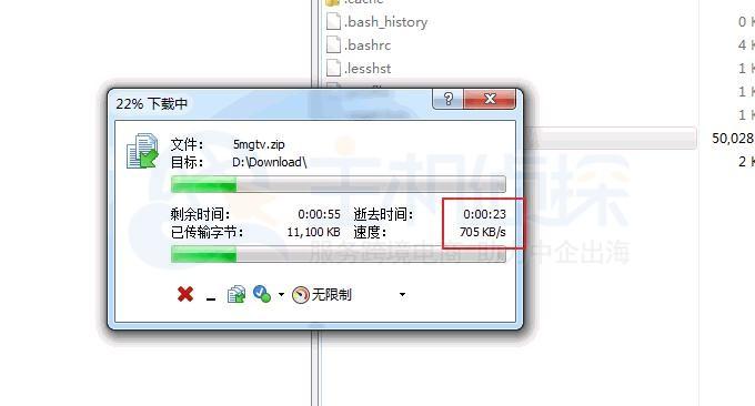 Linode VPS下载文件速度测试
