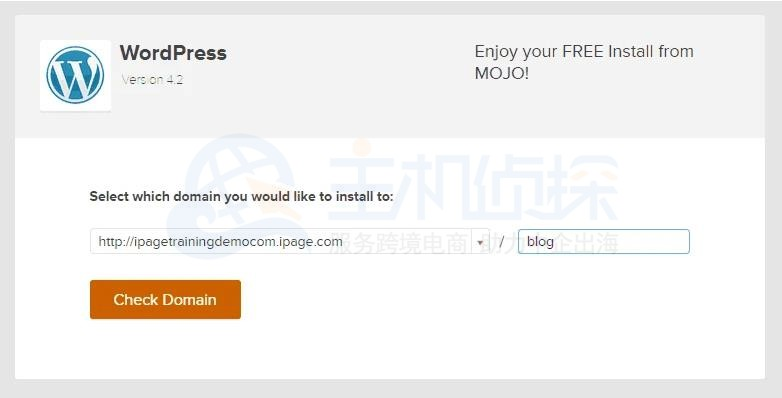 WordPress安装图