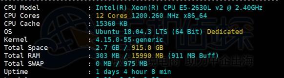 RAKSmart日本服务器配置信息