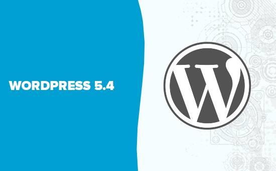 WordPress 5.4正式发布