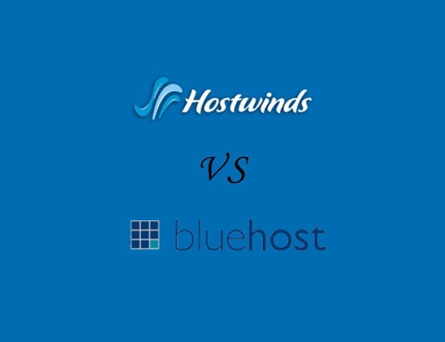 Hostwinds和BlueHost虚拟主机对比