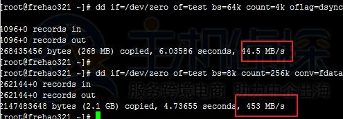 硬盘读写速度测试