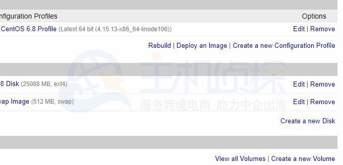 Linode VPS恢复数据