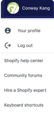Shopify账号管理