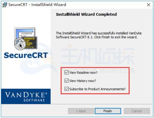 SecureCRT安装成功