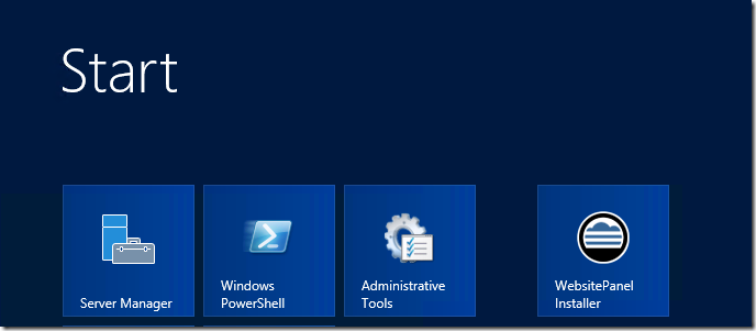 WebsitePanel网站面板安装程序