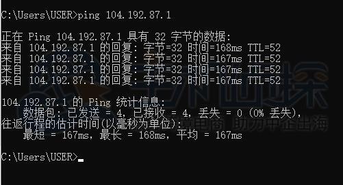 RAKsmart精品网线路Ping