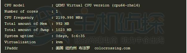 Virmach的CPU信息测试