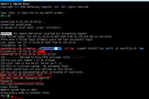 Linux下登录FTP服务器教程步骤