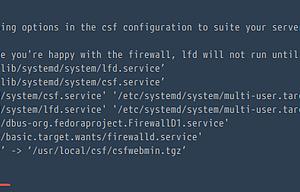 CentOS 7上安装和配置CSF图文教程