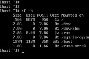 RAKsmart美国服务器Centos7多盘分区