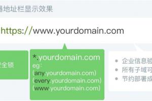 通配符企业型OV SSL证书