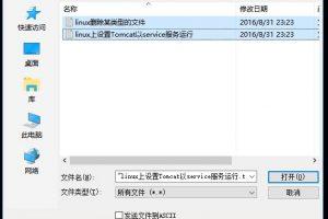 SecureCRT上传文件到Linux