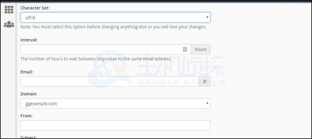 HostEase主机cPanel面板创建电子邮件自动回复教程