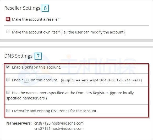 Hostwinds教程:如何创建CPanel帐户?